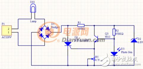 220v光控开关电路图大全(可控硅/继电器/单敏感器光控开关电路详解)