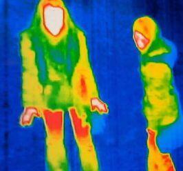 热成像墙壁可以挡住吗_热成像仪真的可以穿透墙的看见人吗