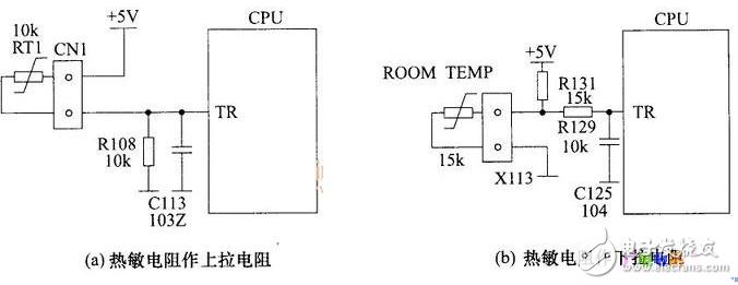 空調溫度檢測電路圖大全(中央空調/傳感器溫度檢測電路詳解)