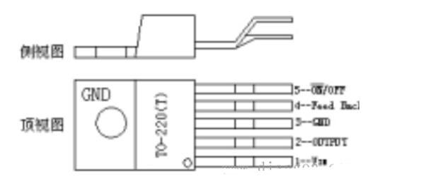 lm2596引脚分配图(lm2596内部框图和电气参数及应用电路)
