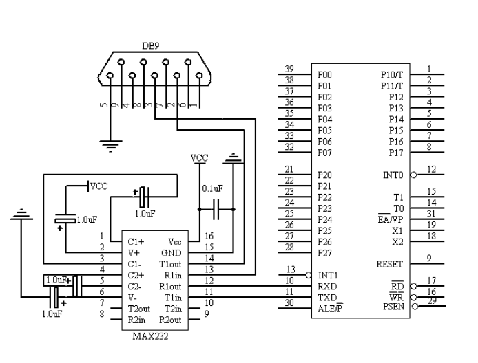 stc89c52单片机下的矩阵键盘程序