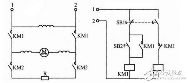 最简单直流制动电路图大全(直流电动机/单管整流/...