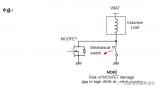 由于继电器的振动,MOSFET也可以在开关关闭时...