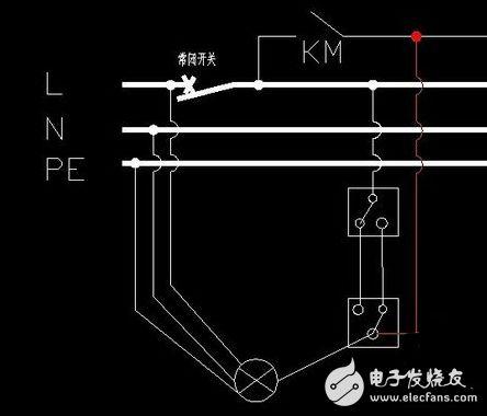 干貨丨樓梯開關雙控電路原理圖詳解