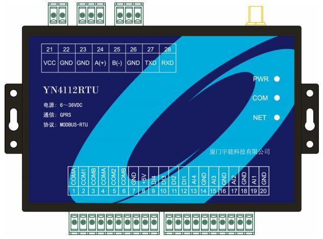 YN4112-GPRS-RTU使用说明书