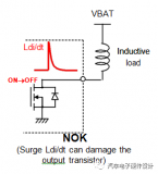 感性负载抛负载引起的高电压脉冲预防措施