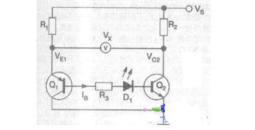 自制晶体管配对仪电路