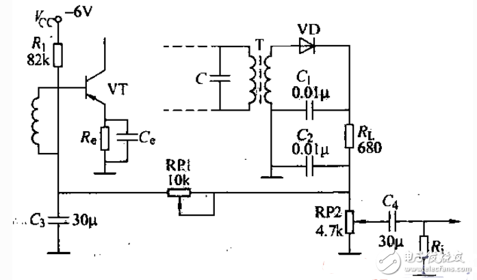 晶体管收音机电路图大全(超外差式/CMOS/变频电路详解)
