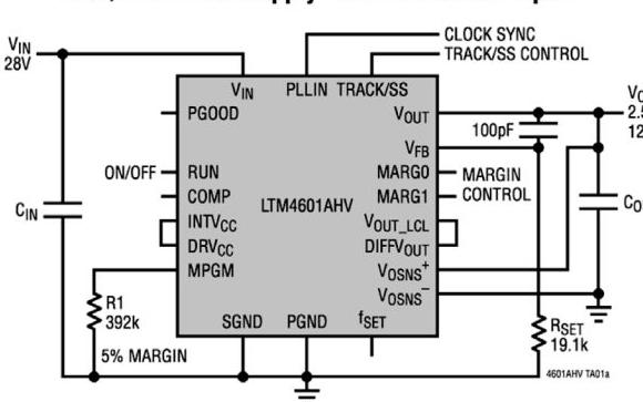 完整μModule产品系列,电源、接口和信号链路不可少!