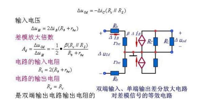 一文看懂差分放大电路的接法大全