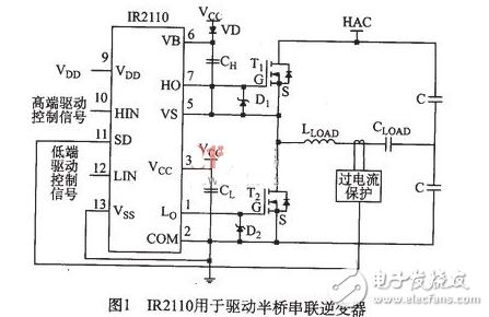 简易12v高频加热电路图大全(IR2llO/变频电源/压敏电阻高频加热电路图详解)