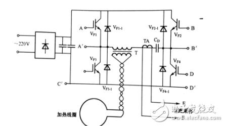 220v感應加熱電路圖大全(LM339N/串聯諧振回路感應加熱電路詳解)