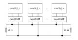 浅淡CAN总线,CAN总线网络拓扑结构