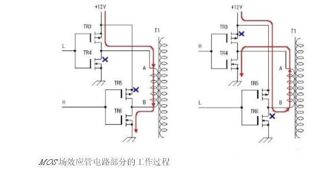 场效应管逆变器电路图大全(六款场效应管逆变器电路图