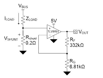采用一款微型运算放大器 (Op amp)来设计精确的、低成本的低侧电流感应电路