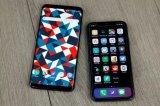 与iPhone X相比,Galaxy S9的表现...