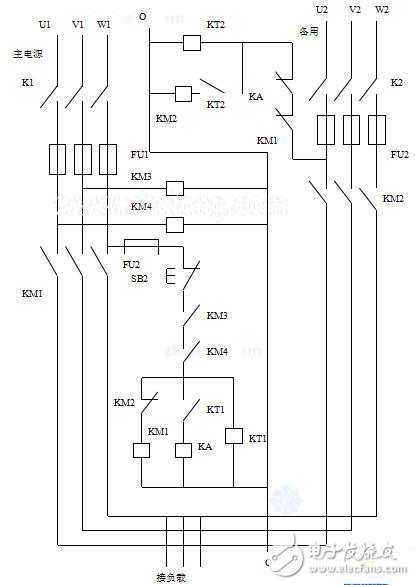 双电源自动切换电路图大全(TDA2030/功率放大/双电源供电的五款电路)