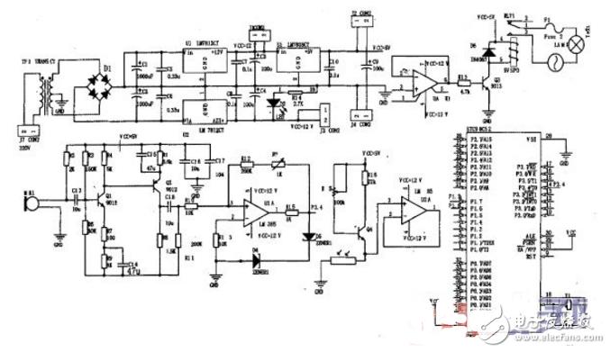 光控路灯双电源电路图大全(继电器/功率开关TWH...