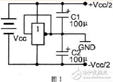 单电源转双电源电路图大全(跟随器/振荡器/时基电路555无稳态电路)