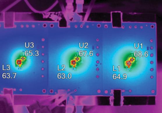 基于LT8612和LT8613高功率密度单片式降...