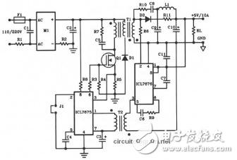 5v電子開關電路圖大全(開關電源/充電器/單敏感器光控開關電路)
