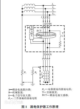 剩余电流互感器的安装接线方法及注意事项