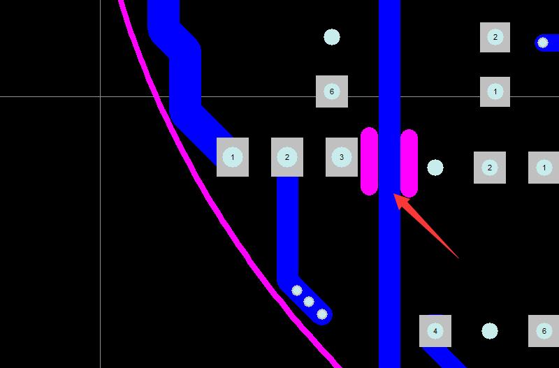 内槽到线需安全间距示意图1