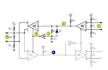 二到四线转换器连接至全双工总线注意要点