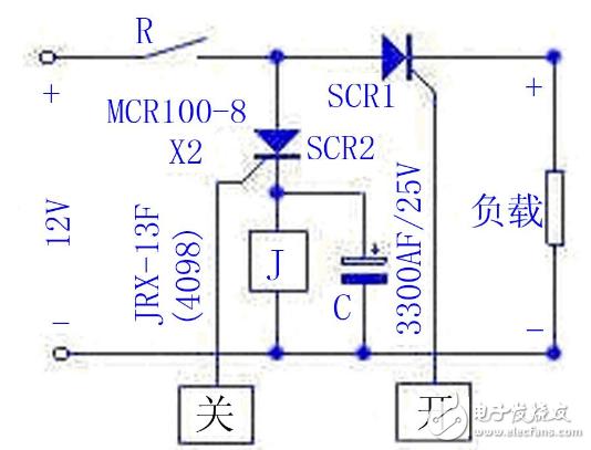 简易触摸开关电路图大全(可控硅/电阻桥/单金属片触摸开关电路)