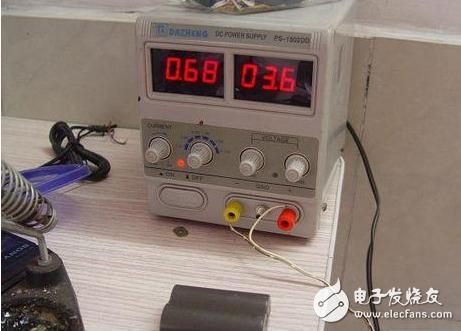 锂电池有电压无电流如何修理
