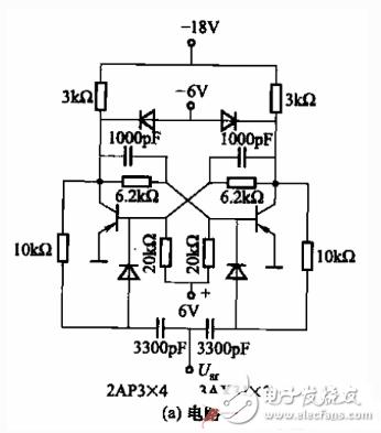 双稳态触发器电路图大全(三极管/CD4017/C...