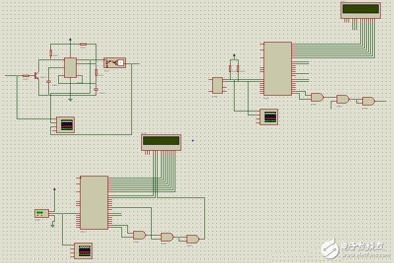 51单片机和红外收发模块的远程温度控制与检测(Proteus仿真电路+发射+接收程序)