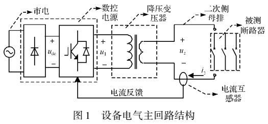一种针对低压断路器新型大电流实验设备