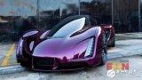 3D新工艺:直接金属激光烧结打造紫色超跑车
