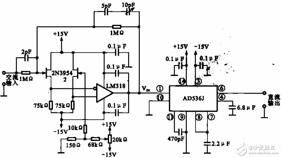 交流转直流电路图大全(逆变电源/升压电源/交流直...