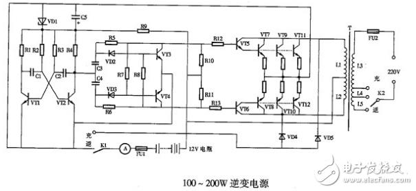 交换转直流电路图大全(逆变电源/升压电源/交换直流转换器)