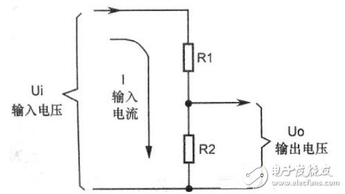 分压电路工作原理解析_电阻分压电路
