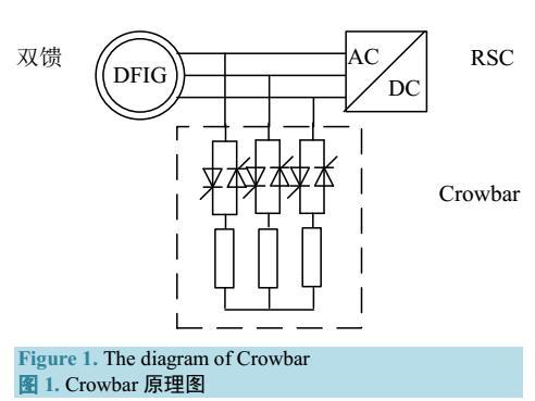 风电接入电网后继电保护计算模型