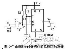 单稳态触发器芯片有哪些_单稳态触发器工作原理