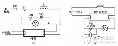 ne555闪烁灯电路图大全(频闪灯/振荡电路/闪光电路)