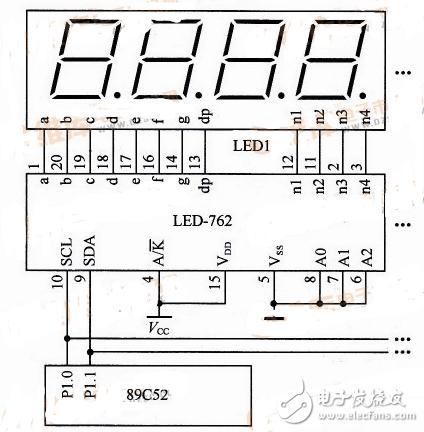 常用led数码管驱动电路图大全(TM1650/CD4511/MC33993)