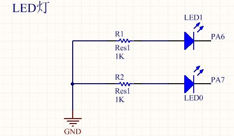 基于stm32的PWM輸出呼吸燈(包括stm32...
