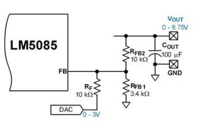 反馈引脚动态控制DC/DC转换器输出电压方法