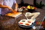 """欧比智能喂饭机器人 让你体验""""饭来张口""""的生活"""