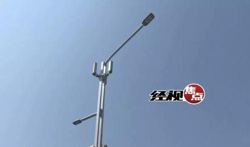 """湖南首条""""智慧路""""很牛 路灯提供wifi可上网"""