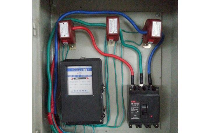 互感器电表怎么算电量_互感器电表接线图