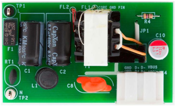 10W CV/CC单面USB充电器
