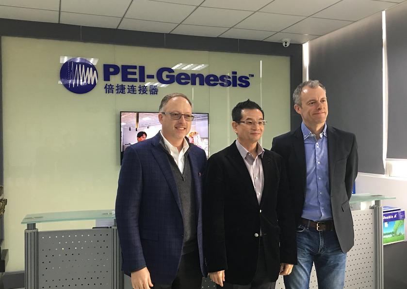 美国军工连接器供应商PEI-Genesis进入中国市场