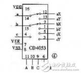 cd4053中文资料汇总(cd4053引脚图及功...