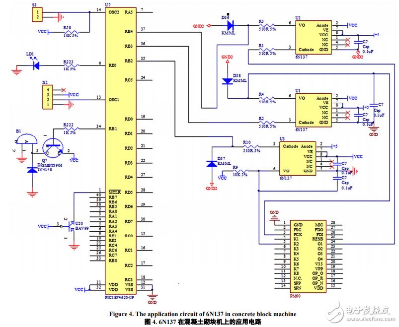 高速光耦6n137典型应用电路图汇总 多谐振荡 光电隔离器 光耦开关
